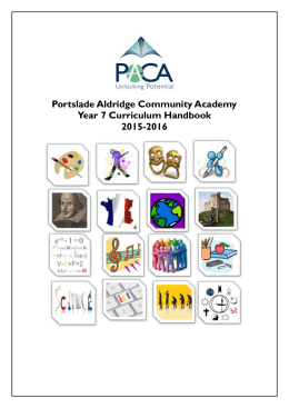 Critical Studies - Portslade Aldridge Community Academy