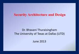 Lecture8 - The University of Texas at Dallas