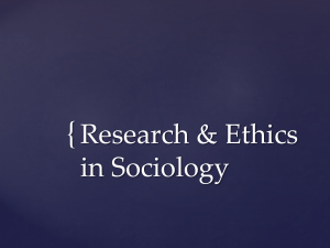 Unit 1 - Research and Ethics