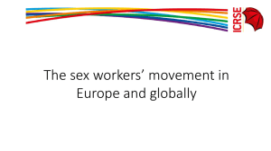 Presentation 5 - International Committee on the Rights of Sex