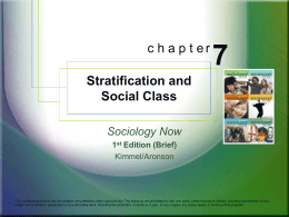 chapet 8 sociology Chapter 3: current trends in transitions to adulthood latest study of romanian orphanages 12th edition of essentials of sociology: a down-to-earth approach ebook, 608 pages.