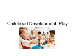 an analysis of the bennefits of play in child development Helps us better appreciate the role of play in healthy child development   evidence to support the benefits of exercise for the brain has been mounting   ducted a meta-analysis showing a positive correlation between physical activity.