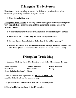 Triangular Trade System