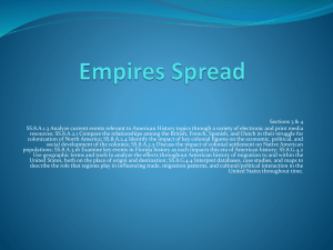 Empire Spreads (Ch. 2, Section 3-4)