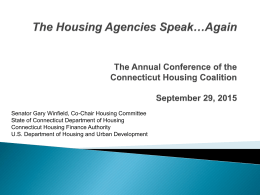 Again - Connecticut Housing Coalition