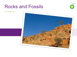 Rocks and fossils presentation