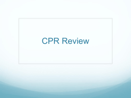 CPR Review - Waukee Community School District Blogs