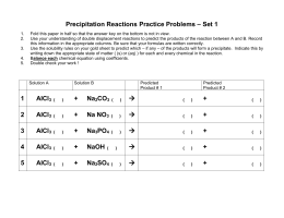 Worksheets Precipitation Reaction Worksheet chemistry 11 solution worksheet 4 precipitation reactions practice problems set 1