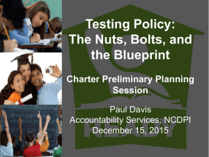 Testing Policy - the NC Office of Charter Schools Wiki!