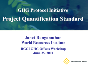 Janet Ranganathan, World Resources Institute