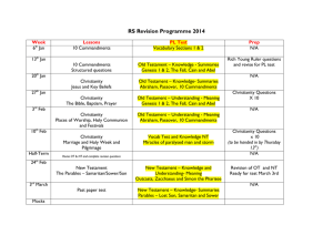RS Revision Programme 2014