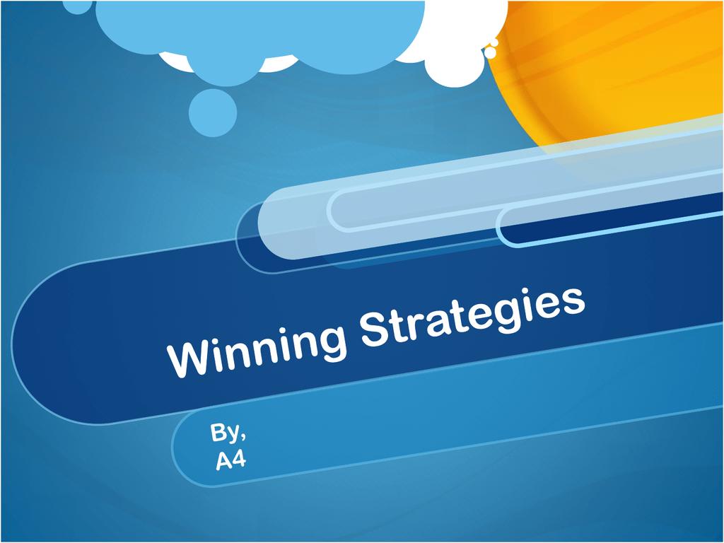 A4_Winning_Strategies_I