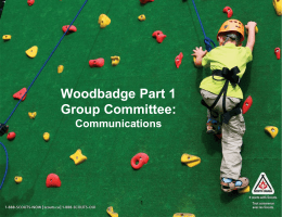 Communications - Scouting in Greater Victoria