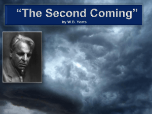 The Second Coming Yeats Tutorial
