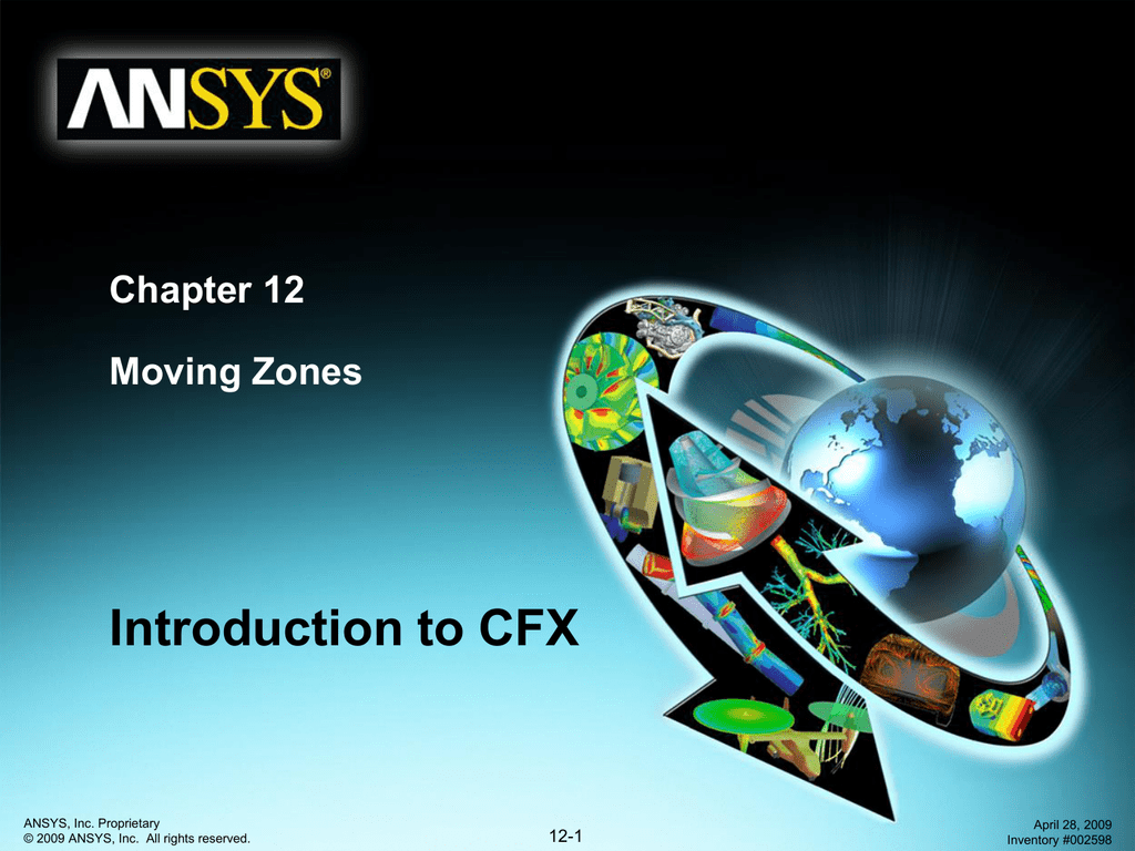 Moving Zones in ansys cfx tutorial