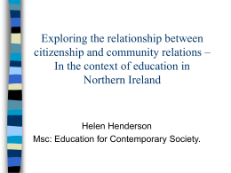 Exploring the relationship between citizenship and