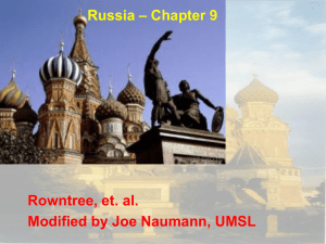 Russia – Chapter 9