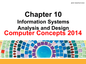 Information Systems Analysis and Design 10