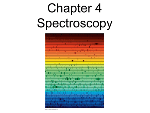Chapter 4 Spectroscopy