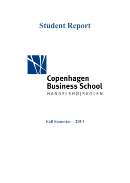 Microsoft Word - Copenhagen Business School