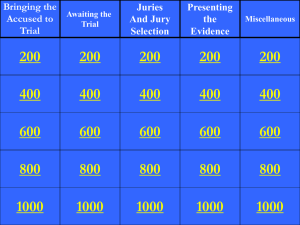 Criminal Law Double Jeopardy