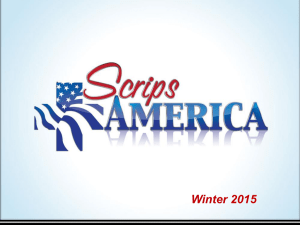 ScripsAmerica Presentation Winter 2015