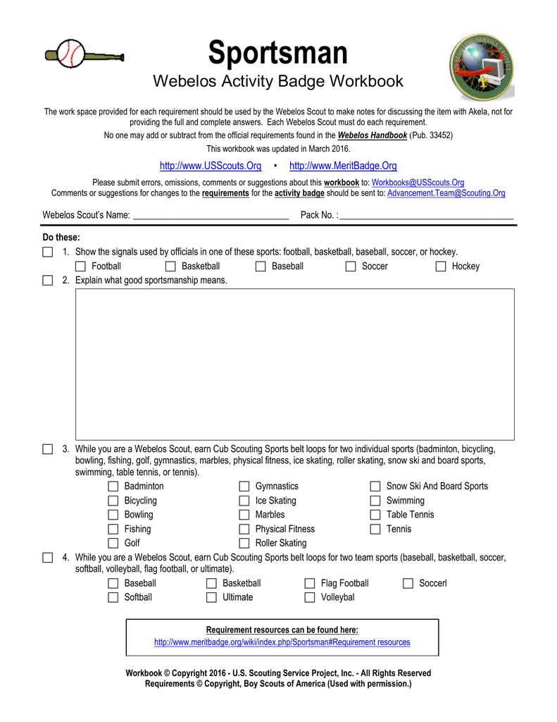 Word Format - US Scouting Service Project