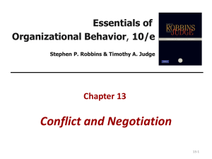 OB CH 12 PPT CONFLICT AND NEGO