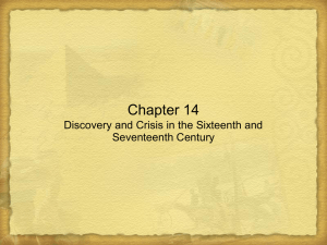 An Age of Discovery and Expansion