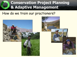 Building Conservation Landscapes