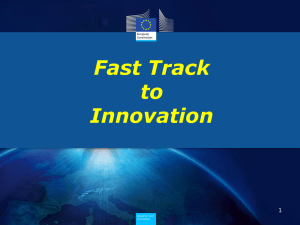 Fast Track to Innovation