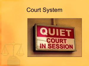 Courts and Sources of Law