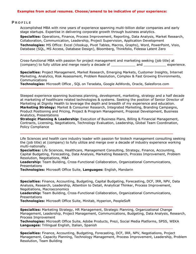 Prezi resume examples