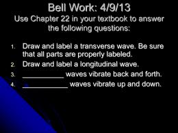 Bell Work: