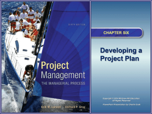Project Management 6e - McGraw Hill Higher Education