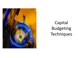 research papers capital budgeting techniques Capital budgeting techniques paper & solution( use as a guide only) as a financial consultant, you have contracted with wheel industries to evaluate their procedures.