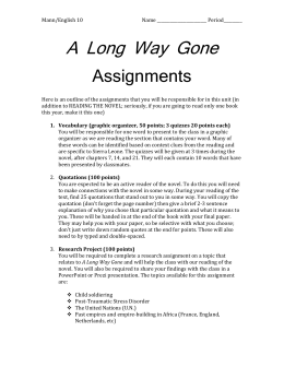Essay Writing Thesis Statement A Long Way Gone Essay Is Beasts Of No Nation Based On A True Story A Long  Way Gone Essay Is Beasts Of No Nation Based On A True Story English Literature Essay Structure also High School Essays Samples Long Way Gone Essay Thesis Statement Examples For Persuasive Essays