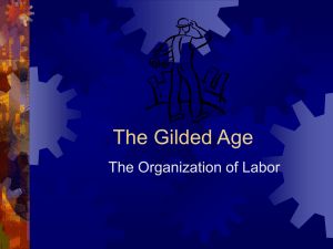The Gilded Age - Online