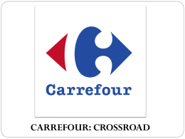 carrefour: crossroad