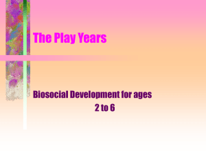 The Play Years - Austin Community College