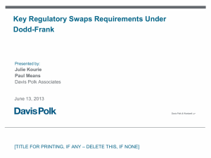 Key-Regulatory-Swaps-Requirements-Under-Dodd-Frank