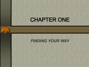 CHAPTER ONE powerpoi..