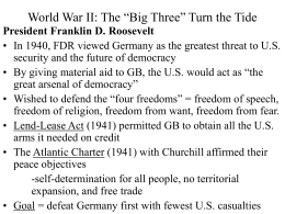 World War II: The Allies Turn the Tide