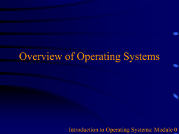 L00_What to expect from Intro to Operating Systems