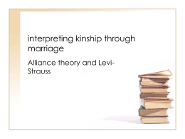 interpreting kinship through marriage