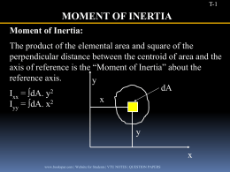 Engg-Mechanics-MOMENT-OF-INERTIA