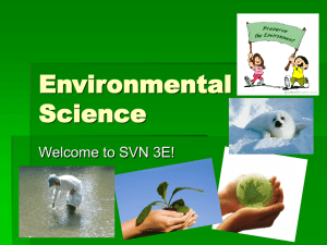 Environmental Science Interactions Wiki