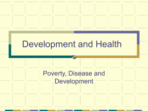 Development and Health