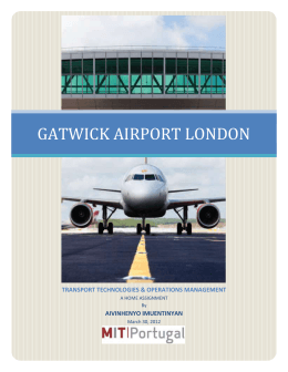 Gatwick Airport Layout