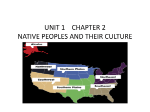 unit 1 chapter 2 native peoples and their culture